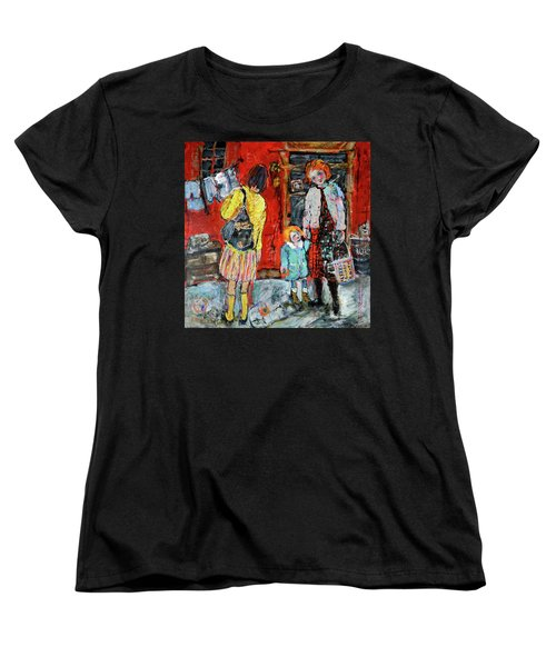 Coming For You Women's T-Shirt (Standard Cut) by Sharon Furner