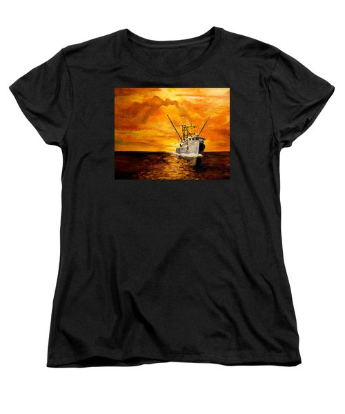 Coming Home Women's T-Shirt (Standard Cut) by Alan Lakin