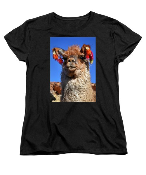 Women's T-Shirt (Standard Cut) featuring the photograph Como Se Llama by Skip Hunt