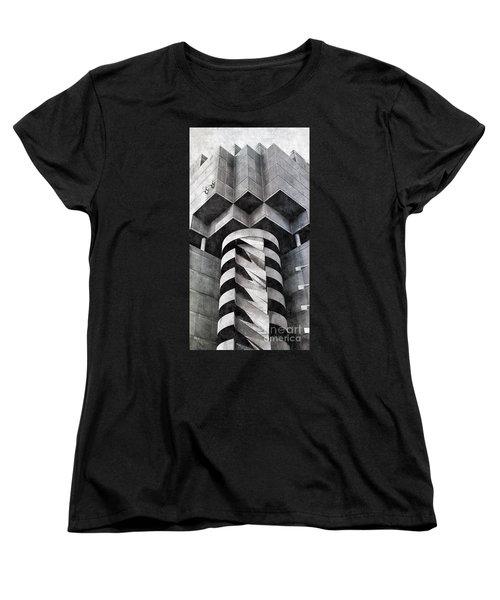 Concrete Geometry Women's T-Shirt (Standard Cut) by Paul Wilford