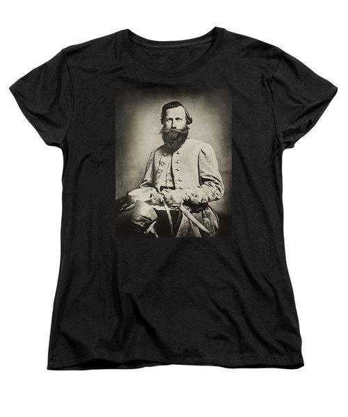 Confederate Jeb Stuart Women's T-Shirt (Standard Cut) by Paul W Faust -  Impressions of Light