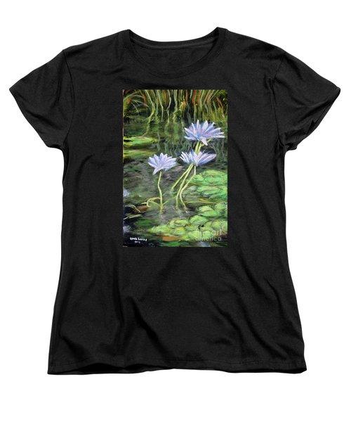 Connections Women's T-Shirt (Standard Cut) by Lyric Lucas