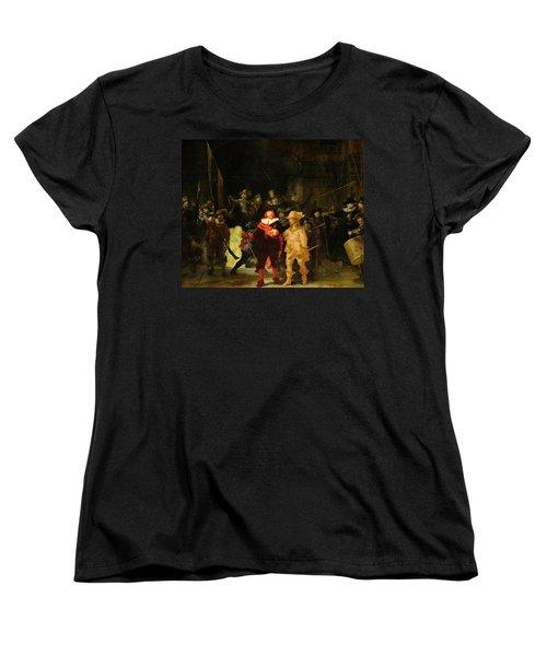 Contemporary 1 Rembrandt Women's T-Shirt (Standard Cut) by David Bridburg