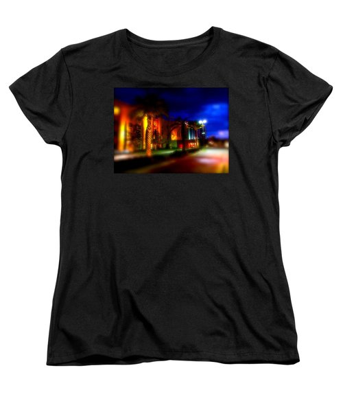 Women's T-Shirt (Standard Cut) featuring the photograph Coral Color Florida by Iconic Images Art Gallery David Pucciarelli