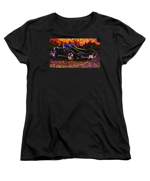 Corvette Beauty Women's T-Shirt (Standard Cut) by Stephen Anderson