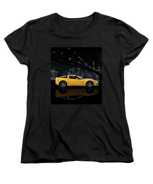 Corvette Z06 Gt1 Women's T-Shirt (Standard Fit)