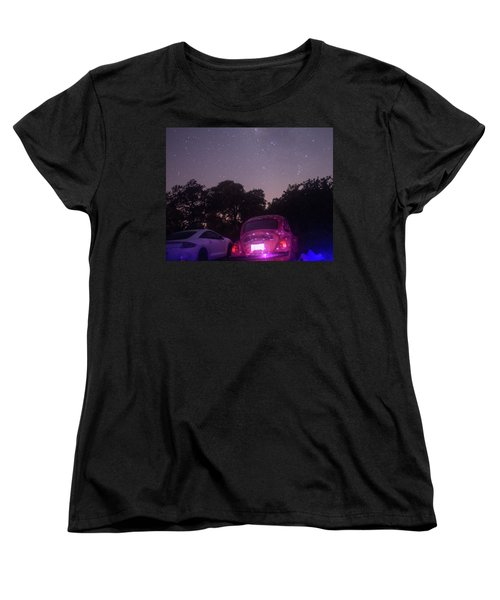 Cosmic Beetle 8 Women's T-Shirt (Standard Cut) by Carolina Liechtenstein