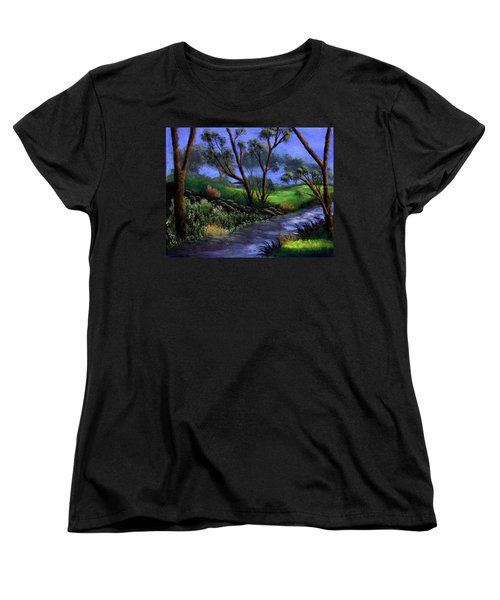 Country Club View Women's T-Shirt (Standard Cut)