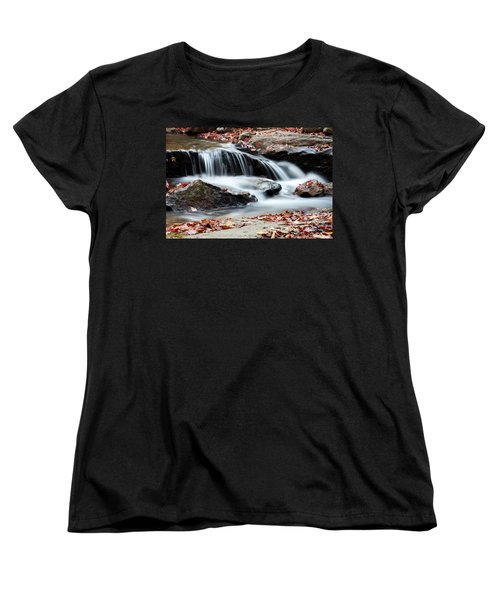 Coxing Kill In Autumn #1 Women's T-Shirt (Standard Cut) by Jeff Severson