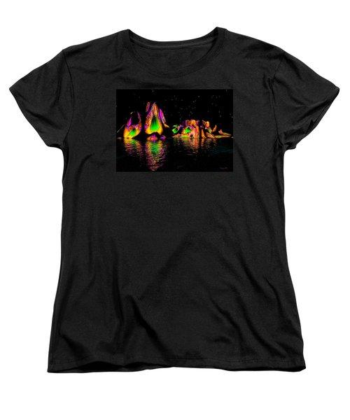 Coyote Moon Women's T-Shirt (Standard Cut) by Robert Orinski