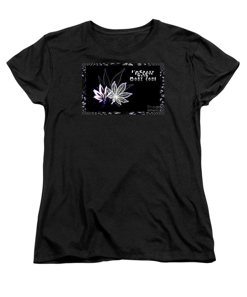 Crazy About Mary Jane Women's T-Shirt (Standard Cut) by Jacqueline Lloyd