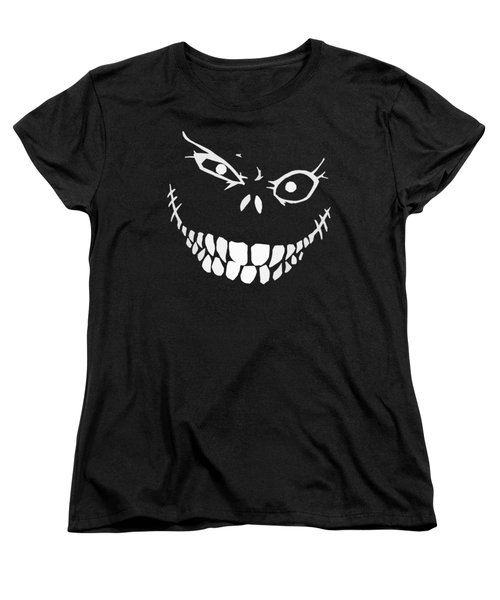 Crazy Monster Grin Women's T-Shirt (Standard Cut) by Nicklas Gustafsson