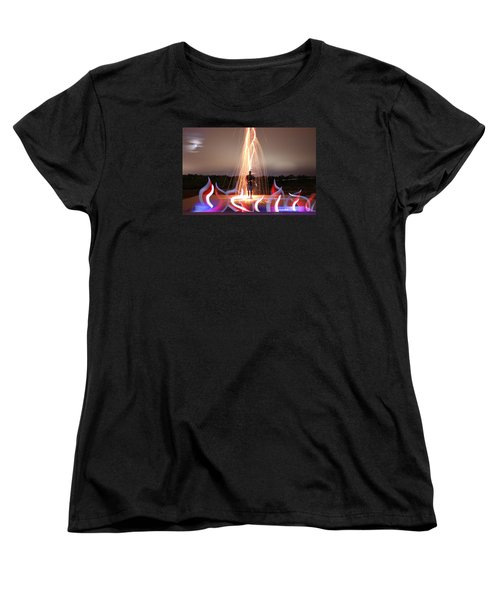 Create Your Dreams Women's T-Shirt (Standard Cut) by Andrew Nourse