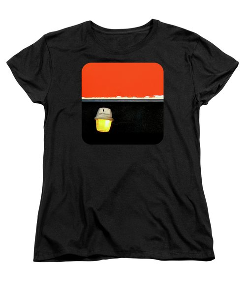 Women's T-Shirt (Standard Cut) featuring the photograph Crooked by Ethna Gillespie