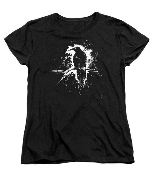 Crow Women's T-Shirt (Standard Cut) by H James Hoff