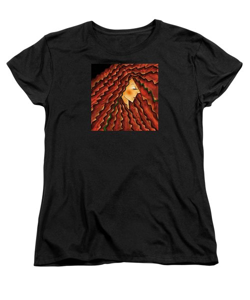 Crowning Glory Women's T-Shirt (Standard Cut) by Brenda Bryant