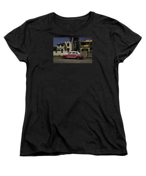 Cuba Car 9 Women's T-Shirt (Standard Cut) by Will Burlingham