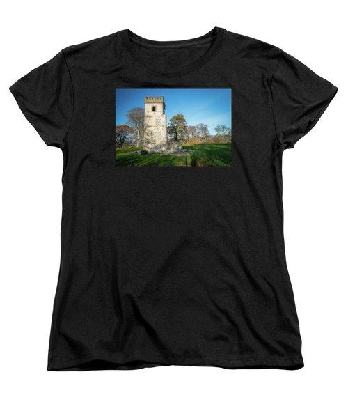 Cuchulains Castle Women's T-Shirt (Standard Cut) by Marty Garland