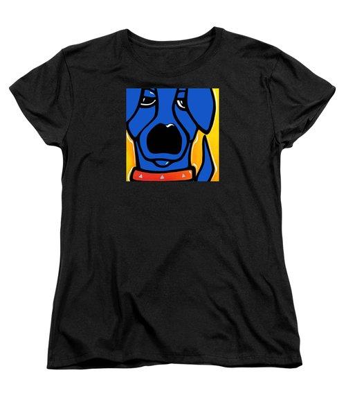 Curiosity Women's T-Shirt (Standard Cut) by Tom Fedro - Fidostudio