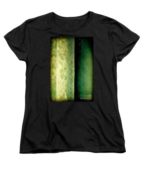 Women's T-Shirt (Standard Cut) featuring the photograph Curtain by Silvia Ganora