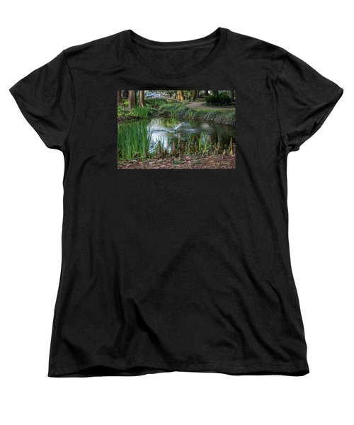 Women's T-Shirt (Standard Cut) featuring the photograph Cypress Knees 02 by Gregory Daley  PPSA