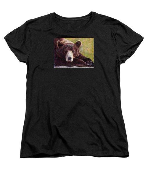 Da Bear Women's T-Shirt (Standard Cut) by Billie Colson
