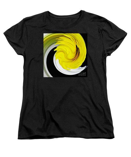 Daffodil Twist Women's T-Shirt (Standard Cut) by Sarah Loft