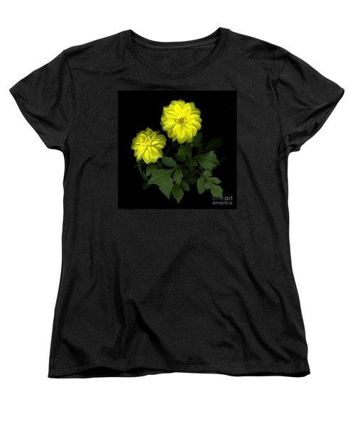 Dahlia Women's T-Shirt (Standard Cut) by Christian Slanec