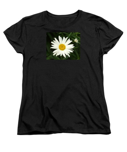 Daisy Days Women's T-Shirt (Standard Cut) by Carol Sweetwood