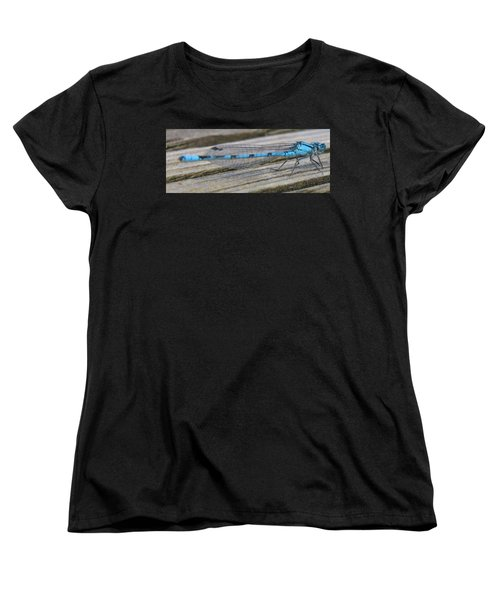 Damselfly Women's T-Shirt (Standard Cut) by Darren Carpenter