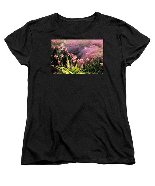 Dance Of The Orchids Women's T-Shirt (Standard Cut) by Rosalie Scanlon