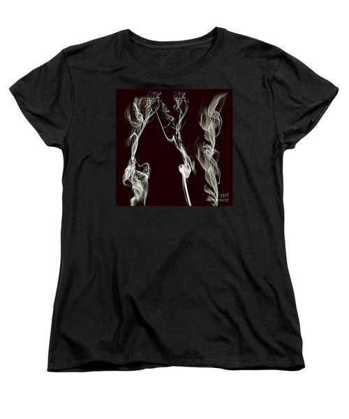 Dancing Apparitions Women's T-Shirt (Standard Cut) by Clayton Bruster