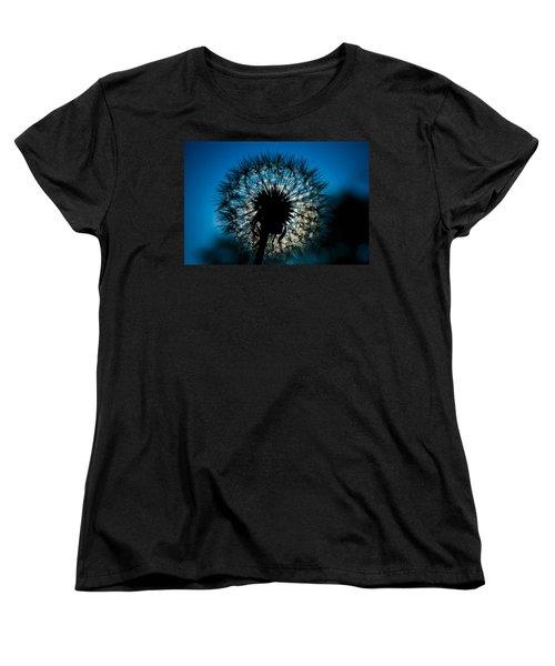 Dandelion Dream Women's T-Shirt (Standard Cut) by Jason Moynihan