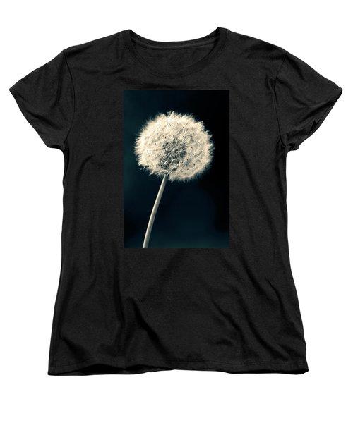 Dandelion Women's T-Shirt (Standard Cut) by Ulrich Schade