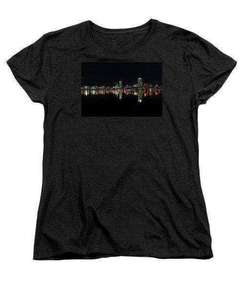 Women's T-Shirt (Standard Cut) featuring the photograph Dark As Night by Juergen Roth