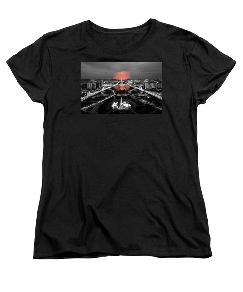 Dark Forces Controlling The City Women's T-Shirt (Standard Cut) by ISAW Gallery