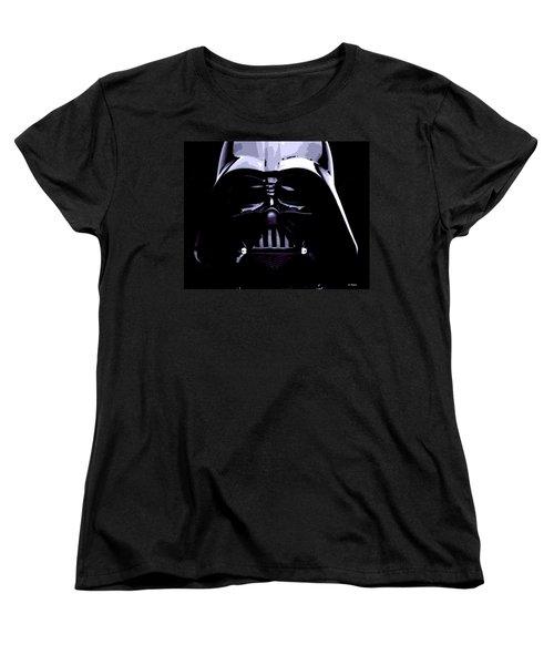 Dark Side Women's T-Shirt (Standard Cut) by George Pedro
