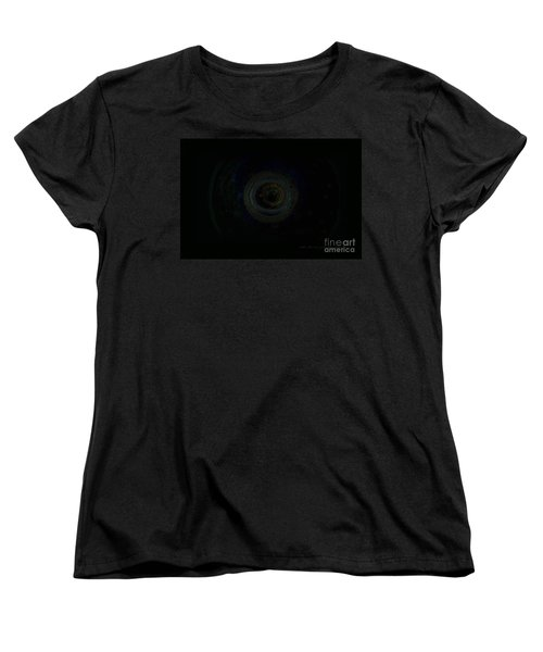 Women's T-Shirt (Standard Cut) featuring the digital art Dark Spaces by Vicki Ferrari