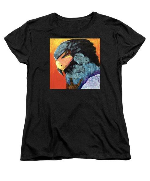 Darth Vader Hawk Women's T-Shirt (Standard Cut) by Donald J Ryker III