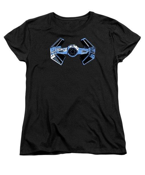 Darth Vaders Tie Figher Advanced X1 Tee Women's T-Shirt (Standard Cut)