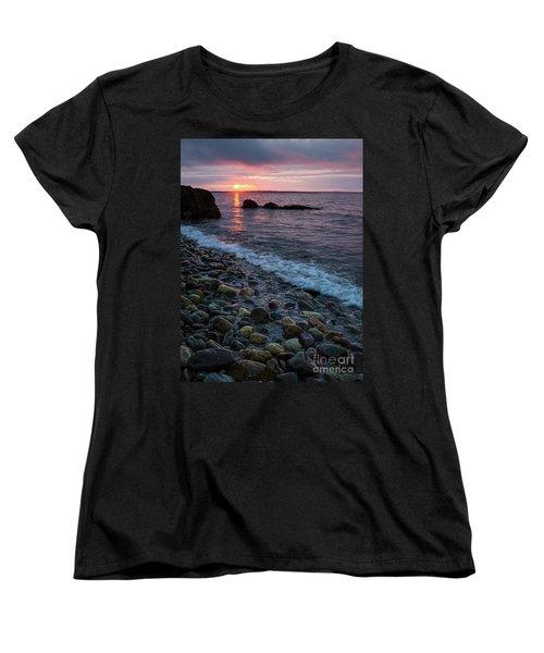 Dawn, Camden, Maine  -18868-18869 Women's T-Shirt (Standard Cut) by John Bald