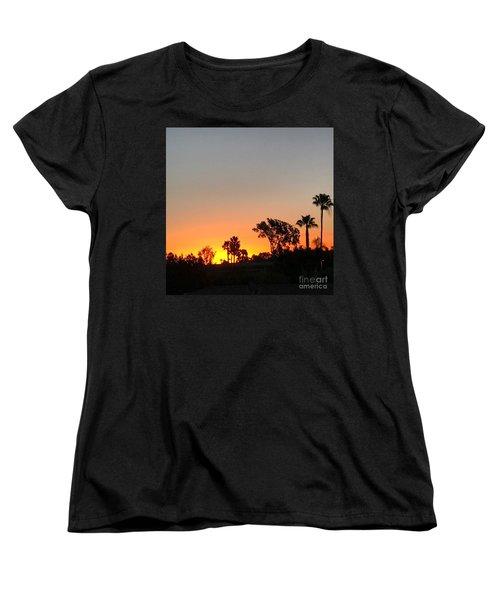 Daybreak Women's T-Shirt (Standard Cut) by Kim Nelson