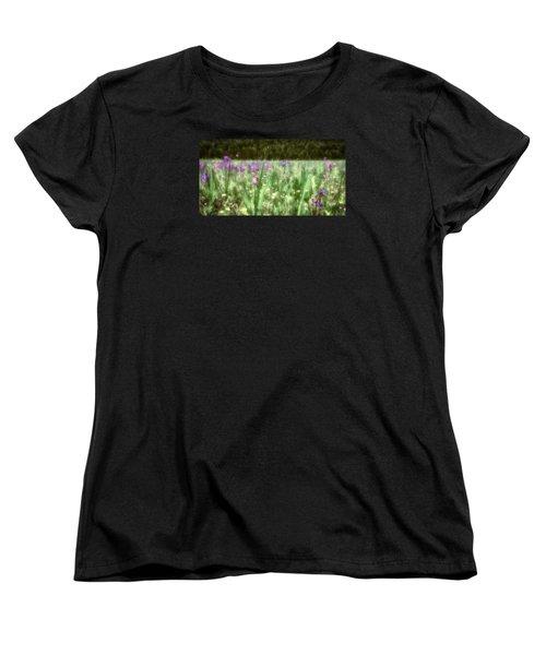 Daydreams In A Meadow Women's T-Shirt (Standard Cut) by Rick Furmanek