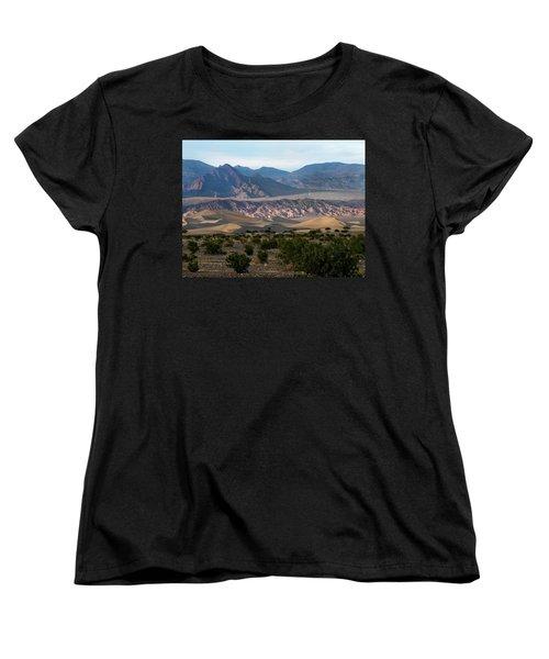 Women's T-Shirt (Standard Cut) featuring the photograph Daylight Pass by Joe Schofield