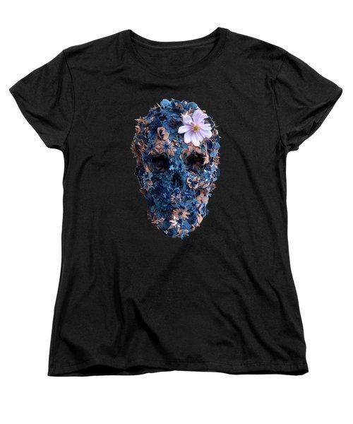 Skull 9 T-shirt Women's T-Shirt (Standard Cut) by Herb Strobino