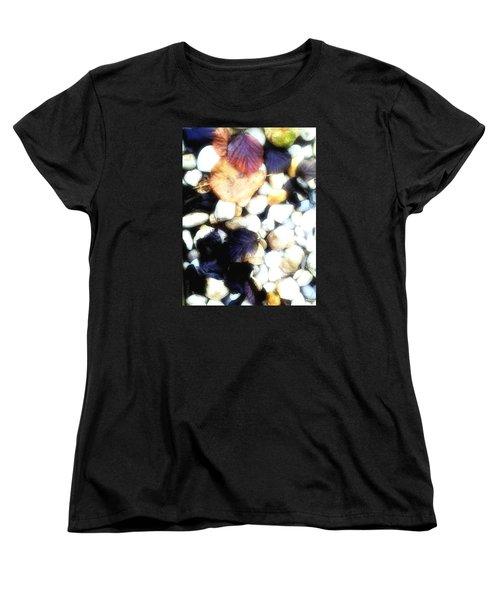 Decaying Leaves Women's T-Shirt (Standard Cut)