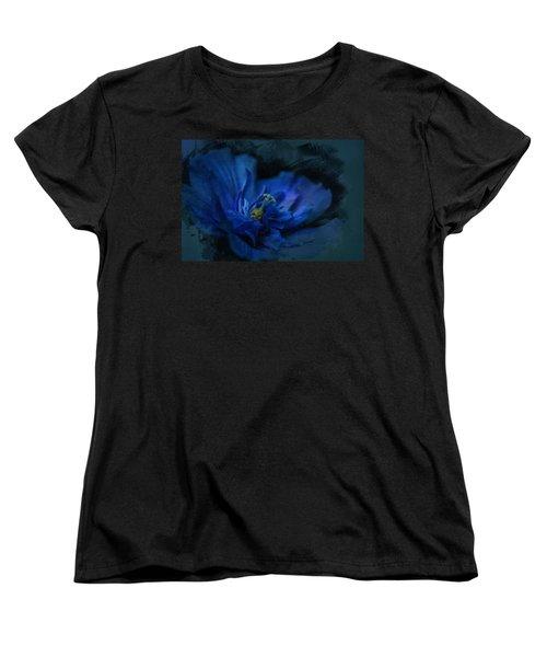 Deep Blue Women's T-Shirt (Standard Cut)