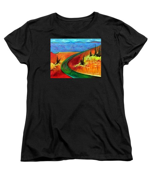 Deeper Than It Seems Women's T-Shirt (Standard Cut) by Elizabeth Fontaine-Barr