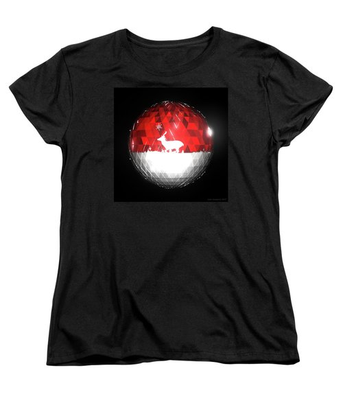 Deer Bauble - Frame 103 Women's T-Shirt (Standard Fit)