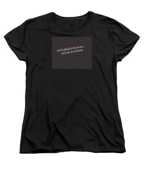 Defined Women's T-Shirt (Standard Cut) by Mark Alan Perry